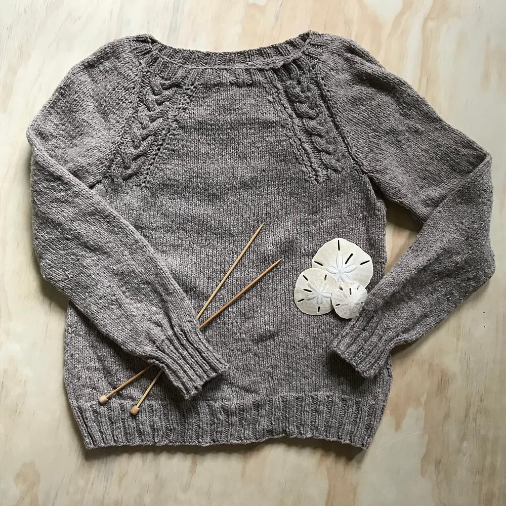 Finished Brooklyn Tweed Coda Sweater