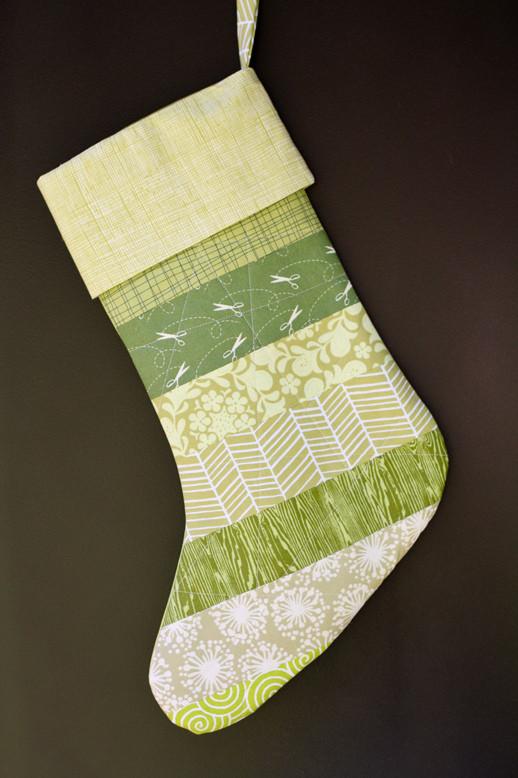 Striped Stocking