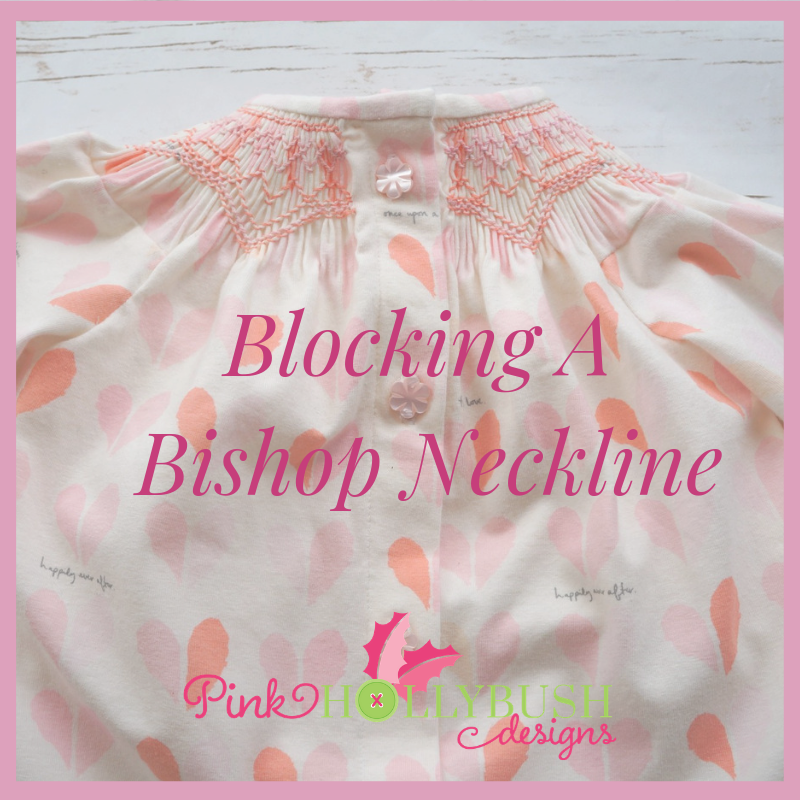 Blocking A Bishop Neckline