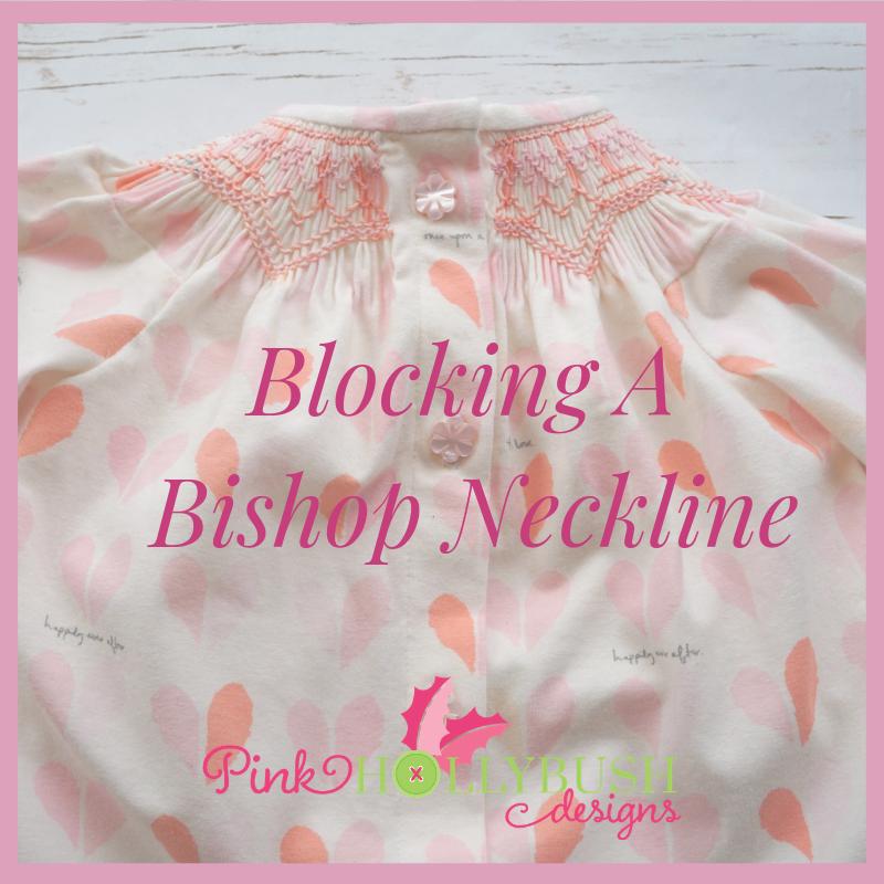 Blocking a Bishop Neckline video