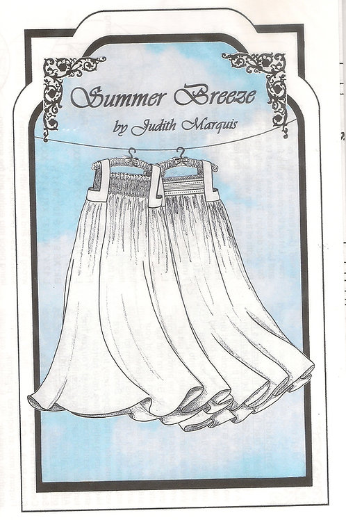 Summer Breeze Lady's Nightgown Sewing Pattern