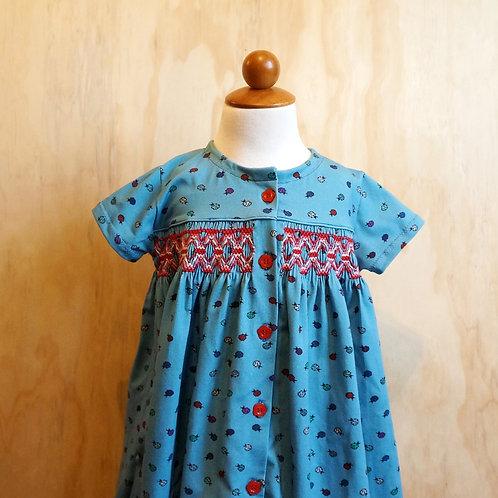 Rosie Dress Pre-pleated Kit