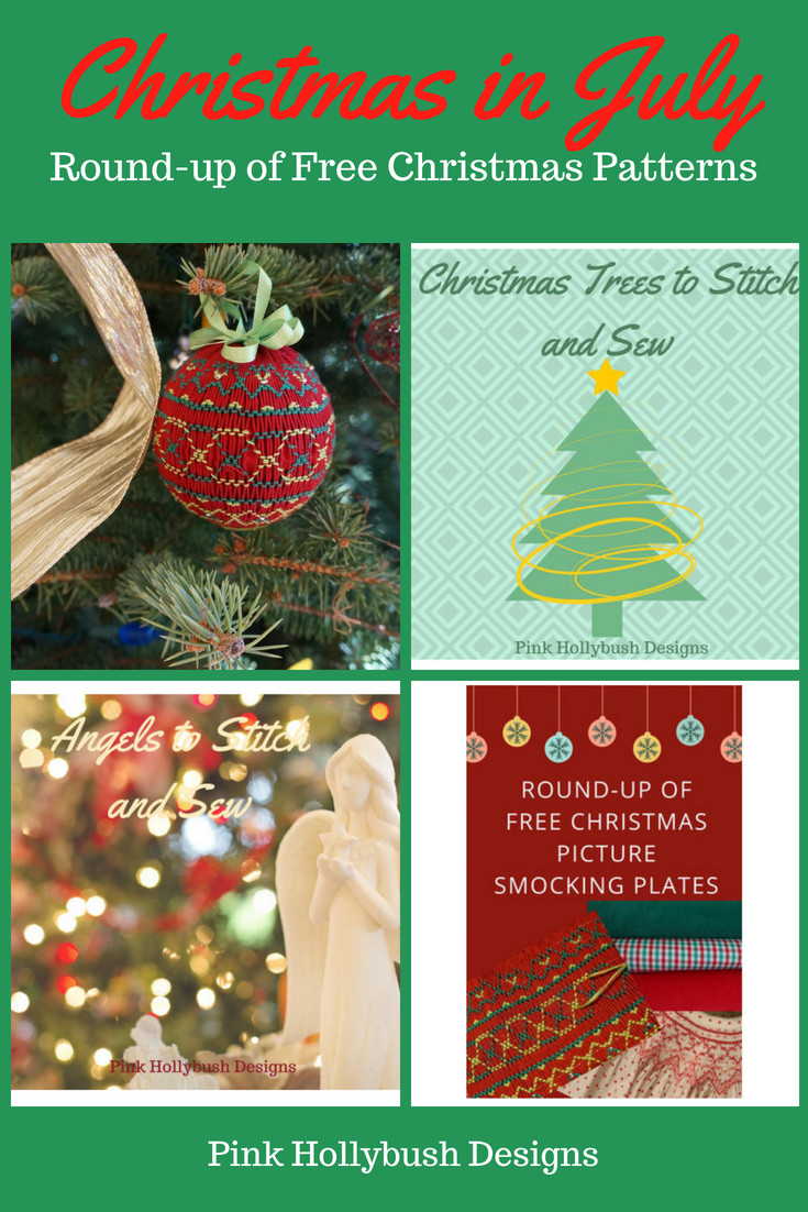 Round up of Free Christmas Patterns