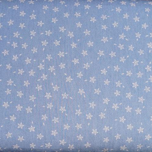 Star Denim Cotton Fabric