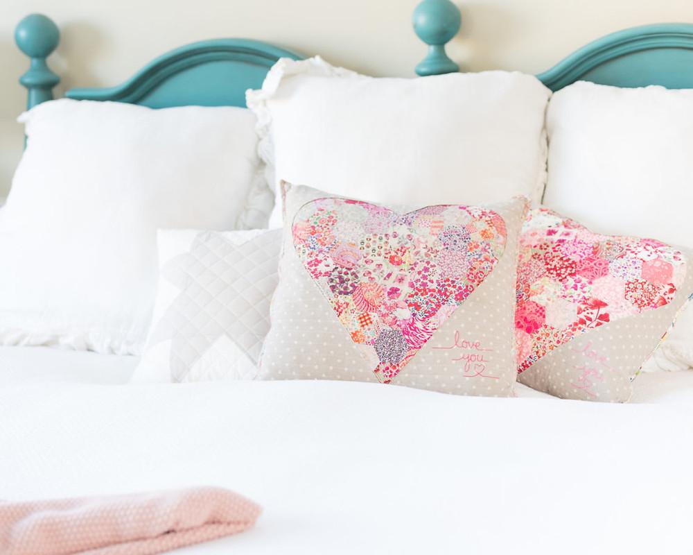 Liberty Heart Pillow