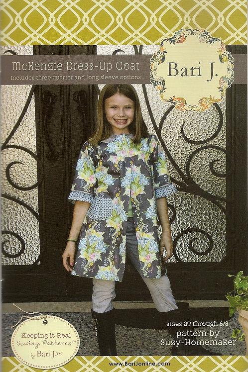 McKensie Dress-Up Coat Girl's Sewing Pattern