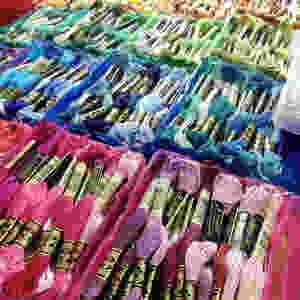 Photo boxes to organize floss