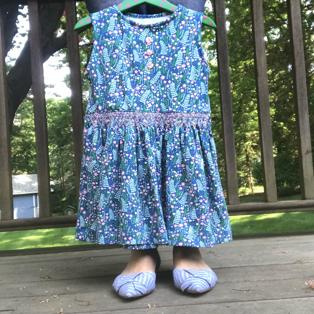 Smocked May Garden Pattern