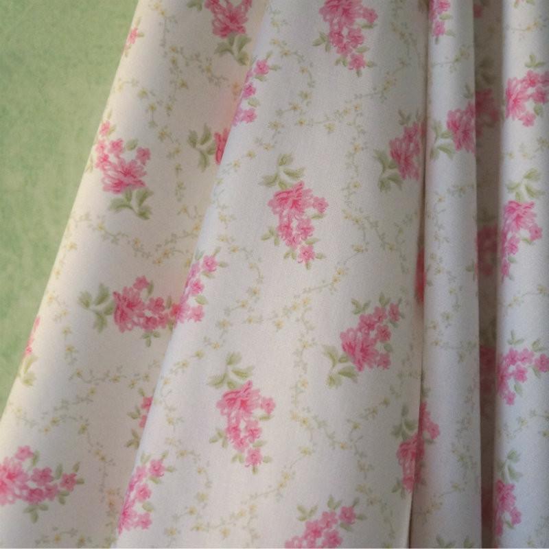Pink Trellis Fabric