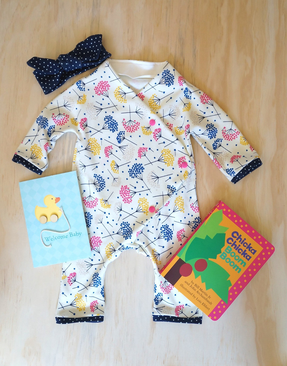 Finished Baby Gift that is quick and easy to sew