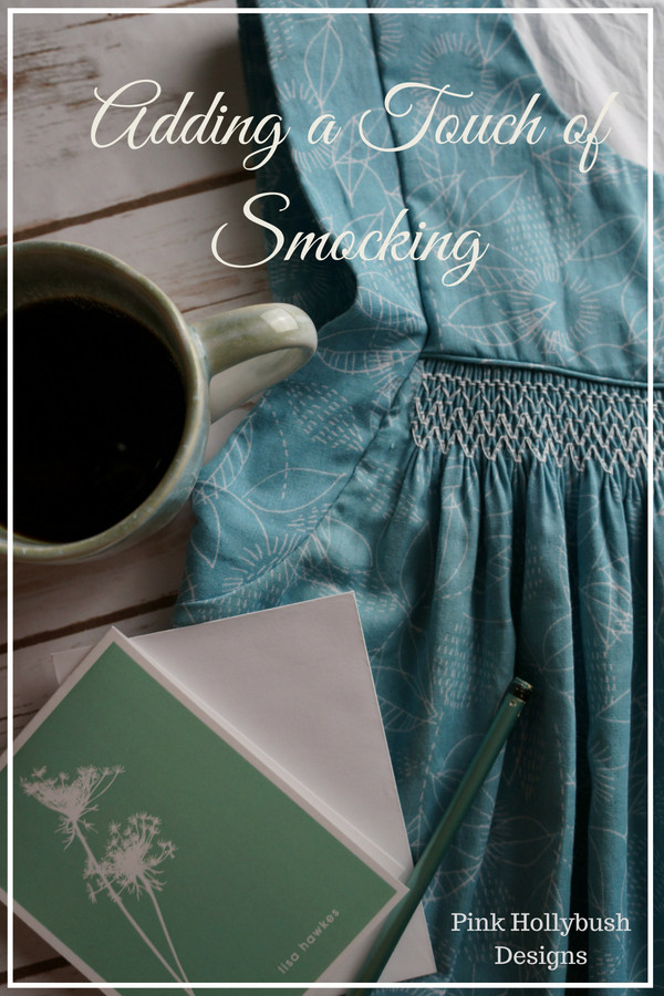 Adding a touch of smocking