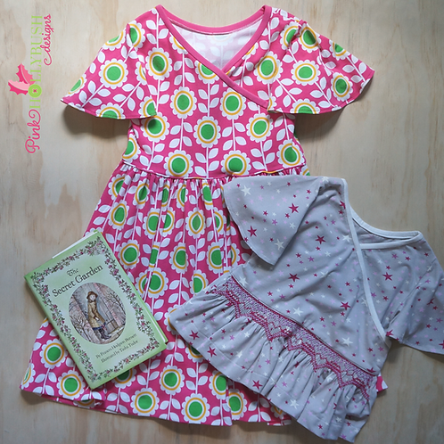 Flora Dress or Top Pre-pleated Kit