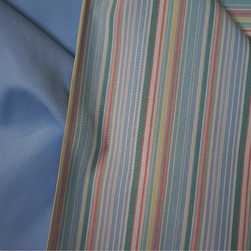 Watercolor Stripe Cotton Broadcloth