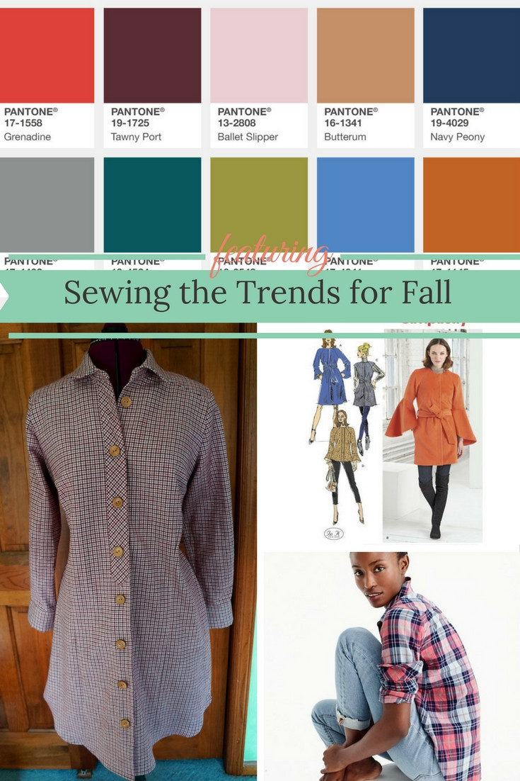 Sewing the Fall Trends