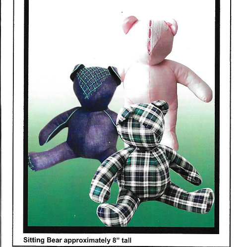 Buckleberry Bear Pattern by Sewing Judith Marquis