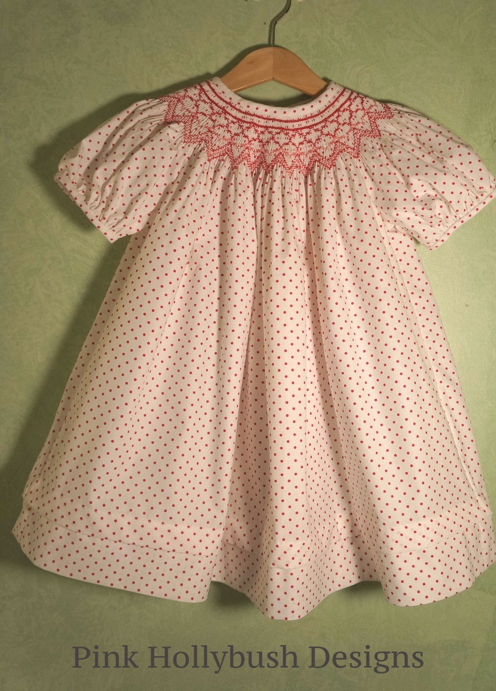 Daisy free smocking plate