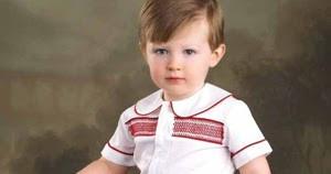 Prince William Smocking Suit