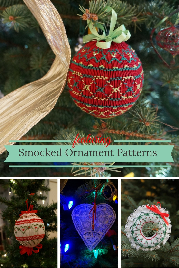 Smocked Christmas Ornament Patterns