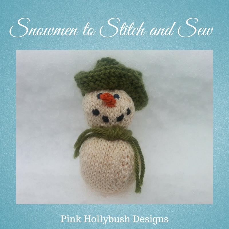 Round-up of free Snowmen Patterns