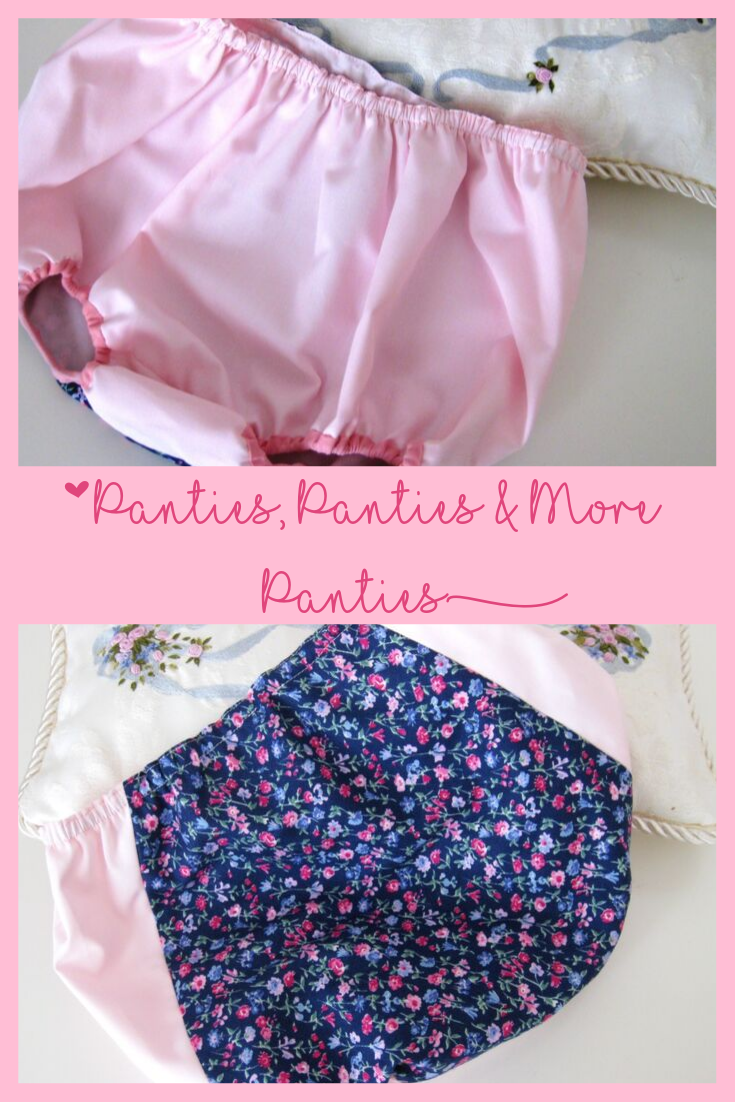 Panties sewing pattern for baby