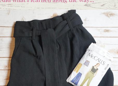 Making Pants: A Sewing Disaster
