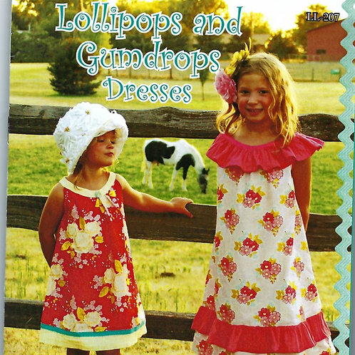 Lollipops and Gumdrops Girl's Dresses Sewing Pattern