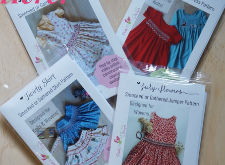 Pink Hollybush Patterns are Here!