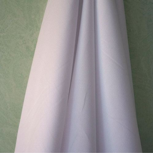 White Cotton/Poly Broadcloth from Fabric Finders