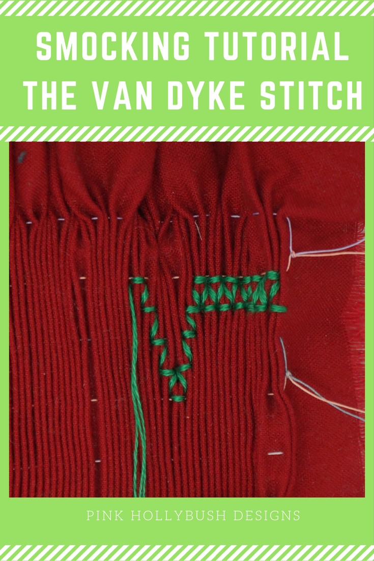 Smocking Tutorial: The Van Dyke Stitch