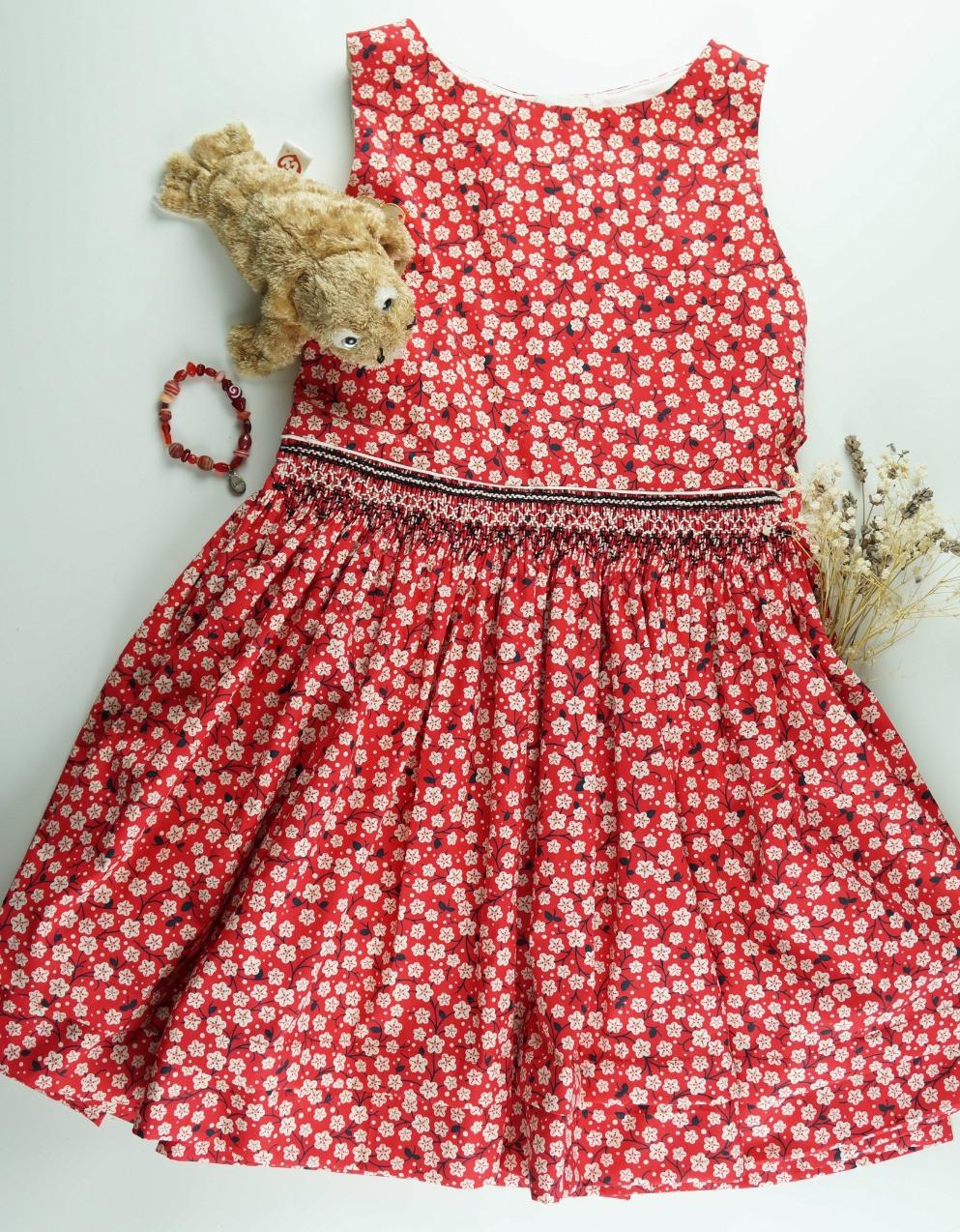 July Flowers Dress