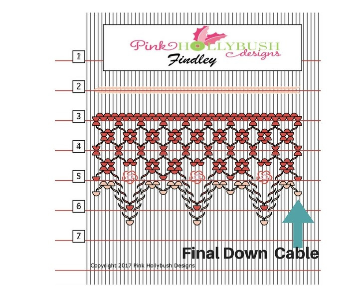 Final down cable