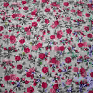 Red Rosie Fabric