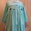 Rosie long sleeve smocked dress
