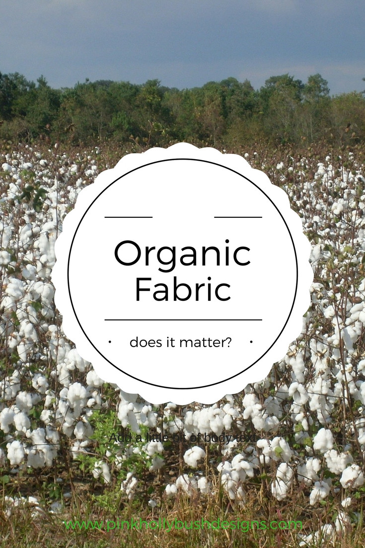 organic fabric graphic