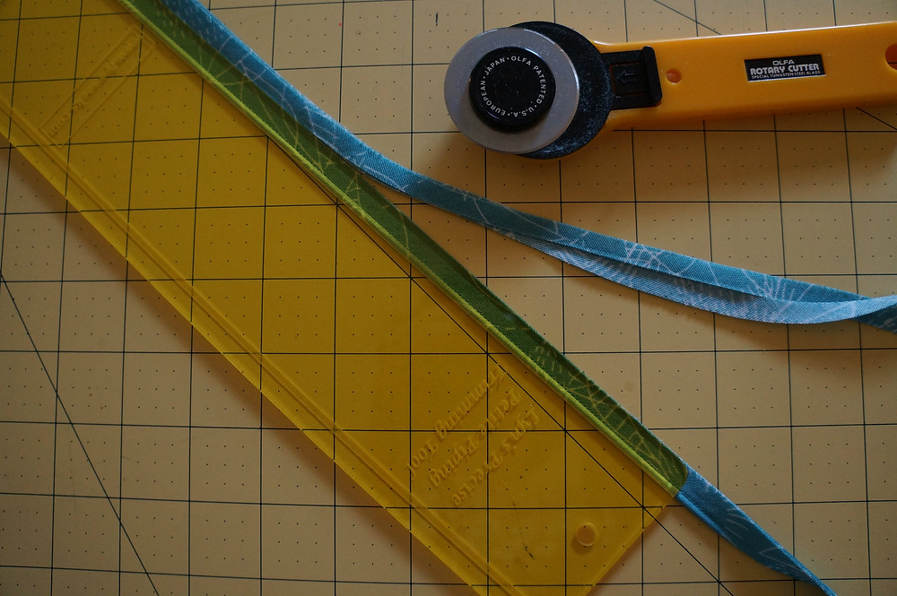 trimming to width of seam allowance