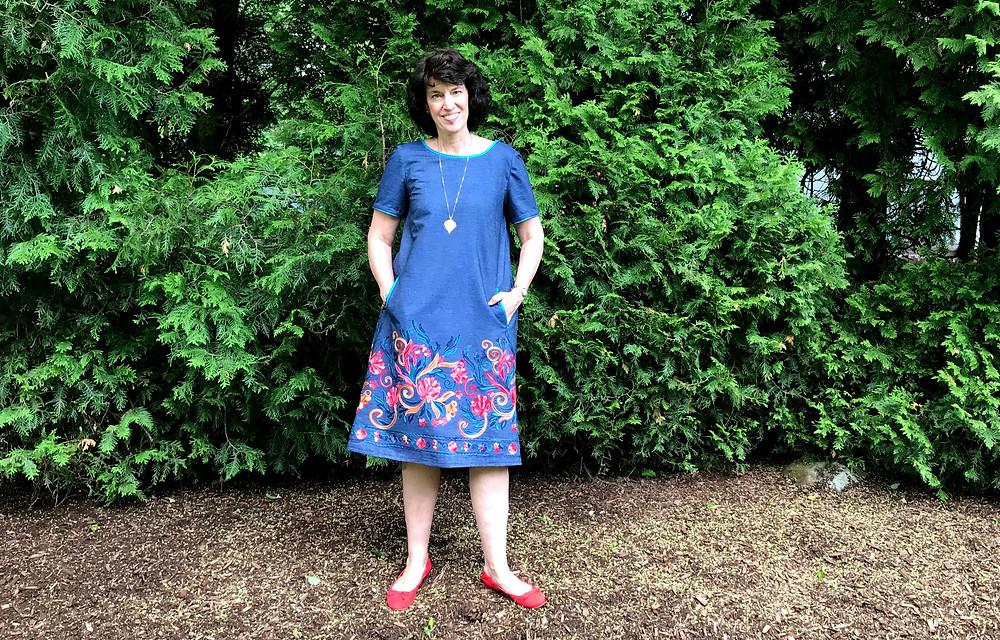 Finished Gelato Dress