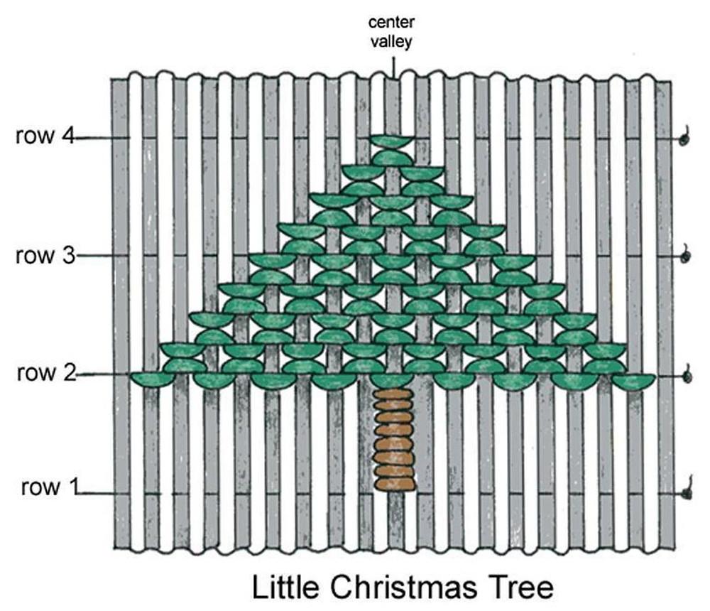 Tree smocking graph