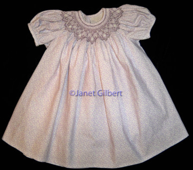 Baby Charlotte smocking plate
