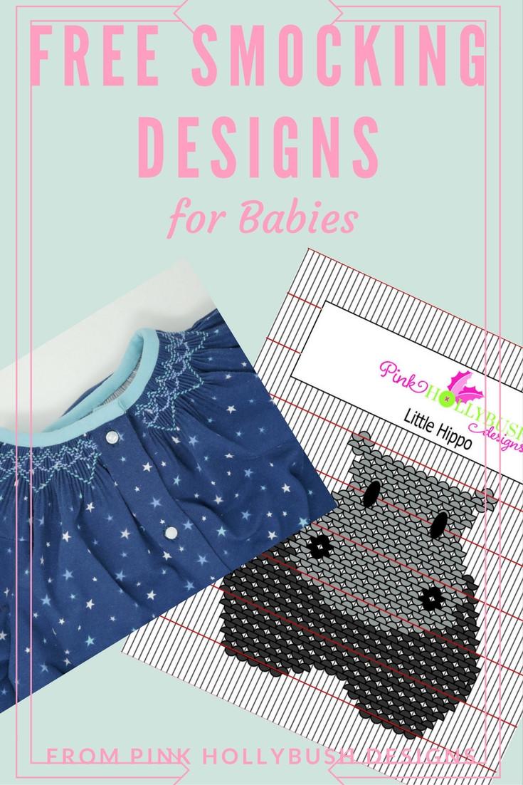 Free smocking Designs for babies