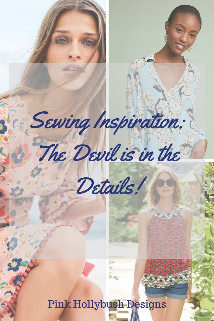 Sewing Inspiration: The Details