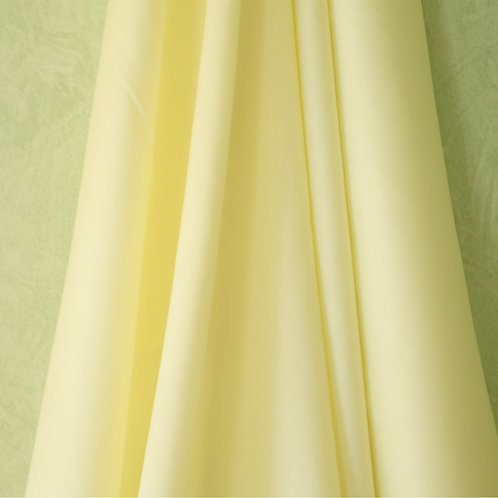 Lemon Satin Batiste