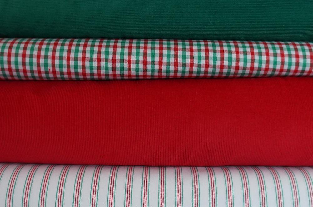 Christmas Fabrics from Pink Hollybush