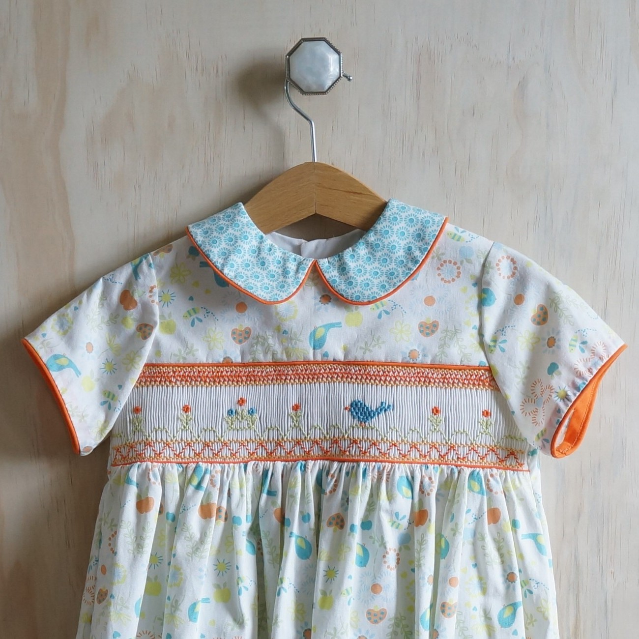 Adding a Smocked Insert to a Pattern