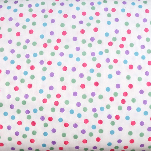 Fun Dot Cotton Corduroy