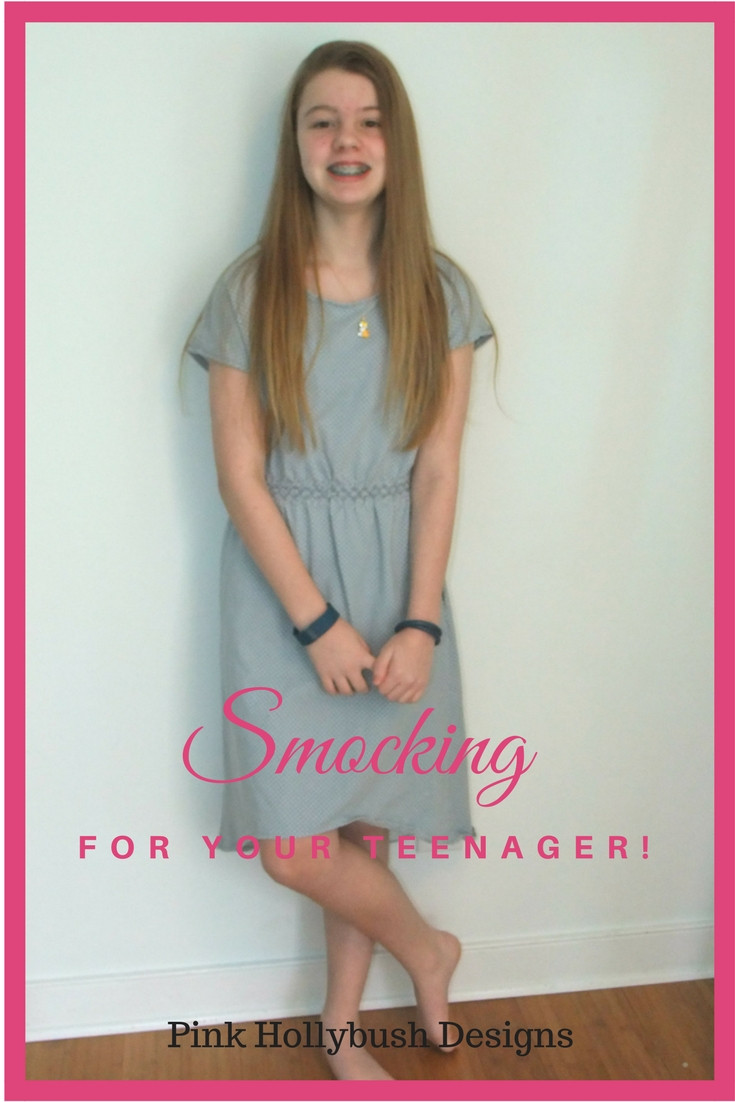 Smocking for your teenager