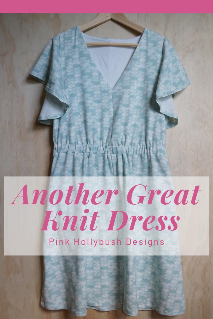 Seamwork Bobby Dress made from Art Gallery Haymow Knit
