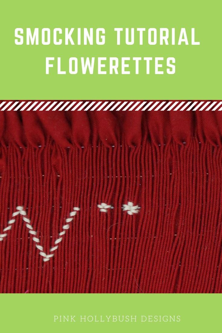 Smocking Tutorials: Flowerettes