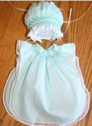 Angel Sleeve Preemie Gown Sewing Pattern
