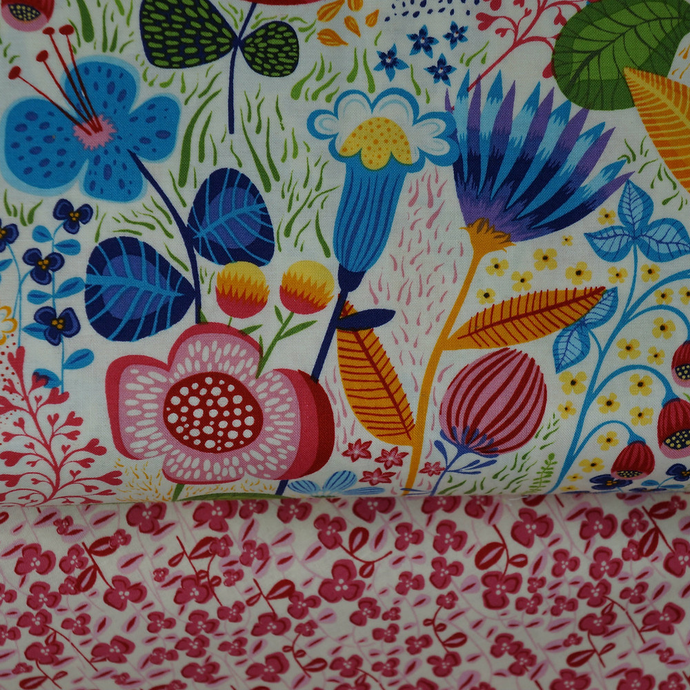 Helen's Meadow and Raspberry Fields Fabrics