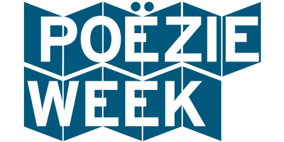 Poëzieweek in Bibliotheek Lebbeke met Penelope Deltour